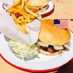 Bacon cheeseburger - delicious