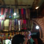Souk - barraca de lenços