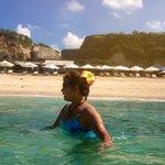 Pandawa beach in the morning