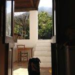 giardinetto con vista sul vulcano