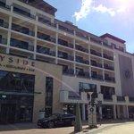 Hotel Shops Zimmer Blick Landseite