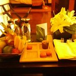 Welcome gifts for a Lotus Suite