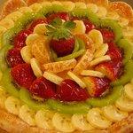 Una crostata di frutta è sempre gradevole
