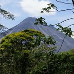 Arenal Volcano from the road to the National Park