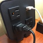 Smart USB charger beside the bed! All theese small details makes everything so fantastic. Thank