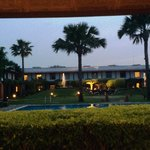 Terrace Trident Hotel Agra