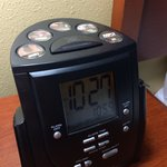 Radio and alarm:-)