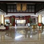 View as you enter hotel entrance