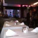 Nice restaurant area