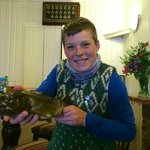 Brown Trout caught in one of the hill loch's!