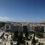 Panoramic view from roof top garden