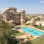 Stunning exterior and pool at Castle Mandawa