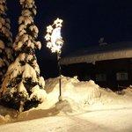 Снежная зима в январе 2014