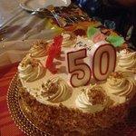 Fabulous cake to finish off a fabulous night