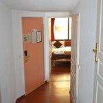 couloir vers la chambre