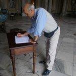 La firma sul registro