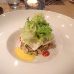 Салат с морскими улитками