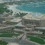 View of the emirates Palace from the room