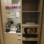 Minibar including Nespresso and Safe, Deluxe room