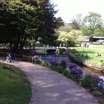 The gardens on a lovely day during May 2014 Bank Holiday