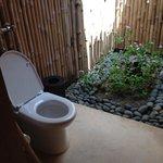 Relaxing restroom