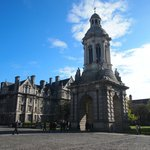 inside of the Trinity college
