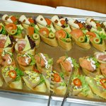 Meeting room food