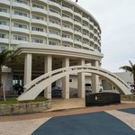 Hotel entrance-front
