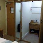 Optimist Room - walk in closet