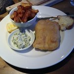 Dinner - fish and chips