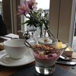 Continental breakfast yogurt