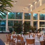Buffet at San Ka'an. I loved this room.
