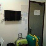 the room door