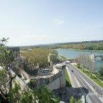 beautiful view - lookout Avignon.