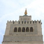 Detalle del minarete