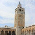 plaza y minarete