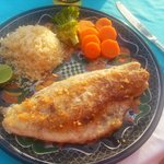 one of my fav-red snapper with garlic