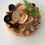 Sea Shell Risotto
