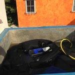 wasgelegenheid voor duikspullen