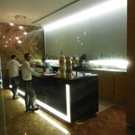 The bar inside