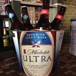 CINCO DE MAYO SPECIAL- bucket of beer with 5 bottles of your choice, $10 and keep the bucket!