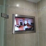 tv in the shower!