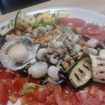 fruits de mer aux agrumes