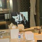 TV in Bathroom mirror