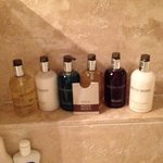 molton brown products, added touches :)