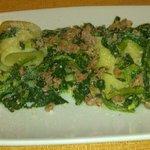 Broccoletti e salsiccia