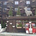 façade de l'hotel Mercure Chamonix Centre