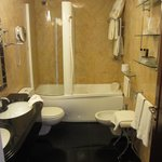 bathroom has bidet