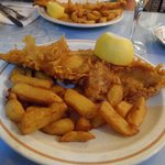Our haddock and chips