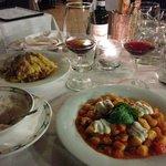 Gnochetti + tagliatelles